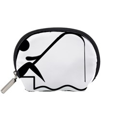 Angling Pictogram Accessory Pouches (small)  by abbeyz71