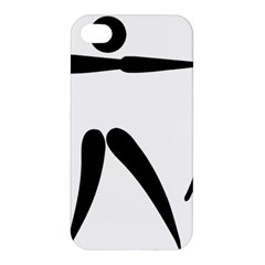 Archery Pictogram Apple Iphone 4/4s Hardshell Case by abbeyz71