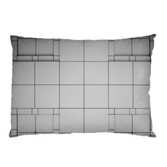 Abstract Architecture Contemporary Pillow Case