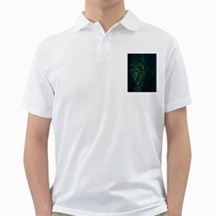 Abstract Art Background Biology Golf Shirts by Amaryn4rt