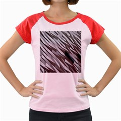 Abstract Background Geometry Block Women s Cap Sleeve T Shirt by Amaryn4rt