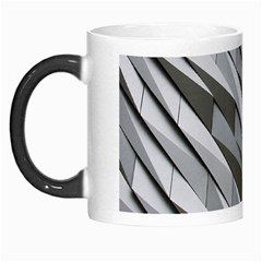 Abstract Background Geometry Block Morph Mugs by Amaryn4rt