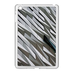 Abstract Background Geometry Block Apple Ipad Mini Case (white) by Amaryn4rt