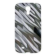 Abstract Background Geometry Block Samsung Galaxy S4 I9500/i9505 Hardshell Case by Amaryn4rt