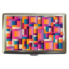 Abstract Background Geometry Blocks Cigarette Money Cases