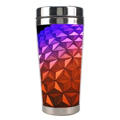 Abstract Ball Colorful Colors Stainless Steel Travel Tumblers by Amaryn4rt