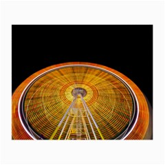 Abstract Blur Bright Circular Small Glasses Cloth (2 Side)