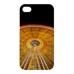 Abstract Blur Bright Circular Apple Iphone 4/4s Hardshell Case by Amaryn4rt