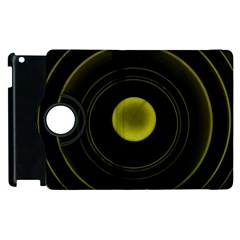 Abstract Futuristic Lights Dream Apple Ipad 2 Flip 360 Case by Amaryn4rt