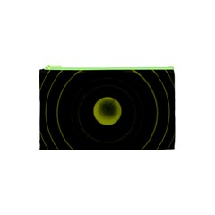 Abstract Futuristic Lights Dream Cosmetic Bag (xs) by Amaryn4rt