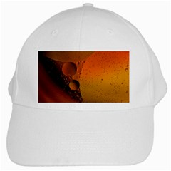 Abstraction Color Closeup The Rays White Cap by Amaryn4rt