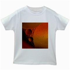 Abstraction Color Closeup The Rays Kids White T Shirts by Amaryn4rt