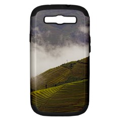 Agriculture Clouds Cropland Samsung Galaxy S Iii Hardshell Case (pc+silicone)