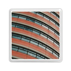 Architecture Building Glass Pattern Memory Card Reader (square)  by Amaryn4rt