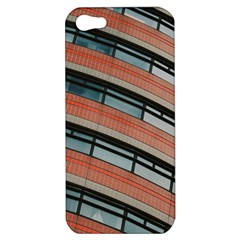 Architecture Building Glass Pattern Apple Iphone 5 Hardshell Case by Amaryn4rt