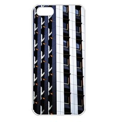 Architecture Building Pattern Apple Iphone 5 Seamless Case (white)