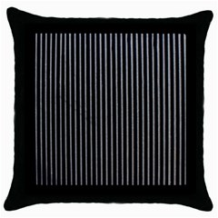 Background Lines Design Texture Throw Pillow Case (black)