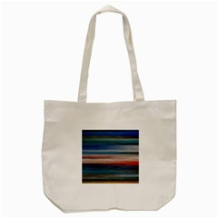 Background Horizontal Lines Tote Bag (cream)
