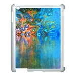 Background Texture Structure Apple iPad 3/4 Case (White) Front