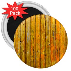 Background Wood Lath Board Fence 3  Magnets (100 Pack) by Amaryn4rt