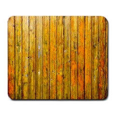 Background Wood Lath Board Fence Large Mousepads by Amaryn4rt