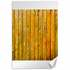 Background Wood Lath Board Fence Canvas 20  X 30