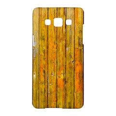 Background Wood Lath Board Fence Samsung Galaxy A5 Hardshell Case  by Amaryn4rt