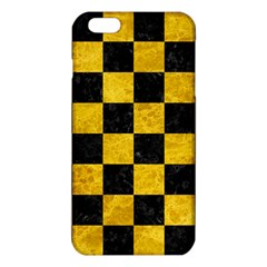 Square1 Black Marble & Yellow Marble Iphone 6 Plus/6s Plus Tpu Case by trendistuff