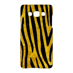 Skin4 Black Marble & Yellow Marble Samsung Galaxy A5 Hardshell Case  by trendistuff