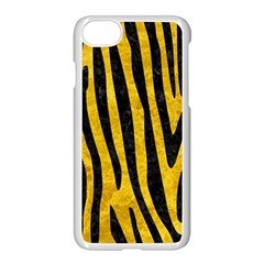 Skin4 Black Marble & Yellow Marble Apple Iphone 7 Seamless Case (white) by trendistuff