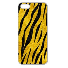 Skin3 Black Marble & Yellow Marble (r) Apple Seamless Iphone 5 Case (clear) by trendistuff
