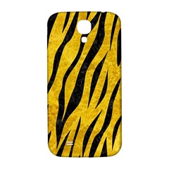 Skin3 Black Marble & Yellow Marble (r) Samsung Galaxy S4 I9500/i9505  Hardshell Back Case by trendistuff