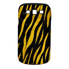 Skin3 Black Marble & Yellow Marble Samsung Galaxy S Iii Classic Hardshell Case (pc+silicone) by trendistuff