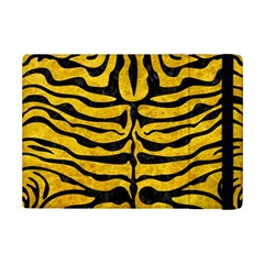 Skin2 Black Marble & Yellow Marble (r) Apple Ipad Mini 2 Flip Case by trendistuff