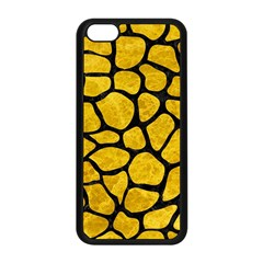 Skin1 Black Marble & Yellow Marble Apple Iphone 5c Seamless Case (black) by trendistuff