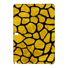 Skin1 Black Marble & Yellow Marble Samsung Galaxy Tab Pro 10 1 Hardshell Case by trendistuff