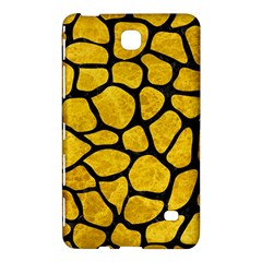 Skin1 Black Marble & Yellow Marble Samsung Galaxy Tab 4 (8 ) Hardshell Case  by trendistuff