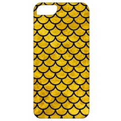 Scales1 Black Marble & Yellow Marble (r) Apple Iphone 5 Classic Hardshell Case by trendistuff