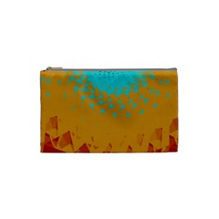 Bluesunfractal Cosmetic Bag (small)  by digitaldivadesigns
