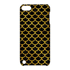 Scales1 Black Marble & Yellow Marble Apple Ipod Touch 5 Hardshell Case With Stand by trendistuff