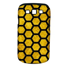 Hexagon2 Black Marble & Yellow Marble (r) Samsung Galaxy S Iii Classic Hardshell Case (pc+silicone) by trendistuff