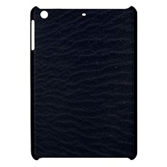 Black Pattern Sand Surface Texture Apple Ipad Mini Hardshell Case by Amaryn4rt