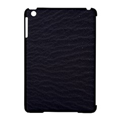 Black Pattern Sand Surface Texture Apple Ipad Mini Hardshell Case (compatible With Smart Cover) by Amaryn4rt