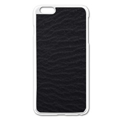 Black Pattern Sand Surface Texture Apple Iphone 6 Plus/6s Plus Enamel White Case by Amaryn4rt