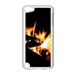 Bonfire Wood Night Hot Flame Heat Apple Ipod Touch 5 Case (white) by Amaryn4rt