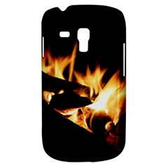 Bonfire Wood Night Hot Flame Heat Galaxy S3 Mini