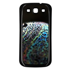 Bubble Iridescent Soap Bubble Samsung Galaxy S3 Back Case (black) by Amaryn4rt