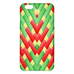 Christmas Geometric 3d Design Iphone 6 Plus/6s Plus Tpu Case by Amaryn4rt