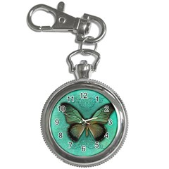 Butterfly Background Vintage Old Grunge Key Chain Watches