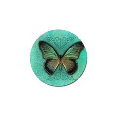 Butterfly Background Vintage Old Grunge Golf Ball Marker (10 Pack) by Amaryn4rt